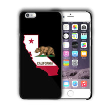 Load image into Gallery viewer, California State Symbols Flag Iphone 4 4s 5 5s 5c SE 6 6s 7 + Plus Case Cover 01