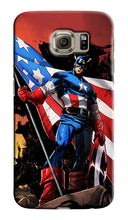 Load image into Gallery viewer, Captain America Avengers Samsung Galaxy S4 S5 S6 7 8 Edge Note 3 4 5 7 Plus Case