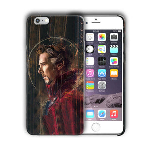 Doctor Strange iPhone 4 4S 5 5S 5c 6 6S 7 8 X XS Max XR Plus SE Case Cover n2