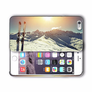 Extreme Sports Skiing Iphone 4 4s 5 5s 5c SE 6 6s 7 + Plus Case Cover 08