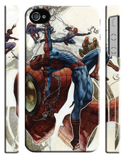Load image into Gallery viewer, Iphone 4s 5s 5c SE 6 6S 7 8 X Plus Cover Case Amazing Spider-Man Hero Comics 16