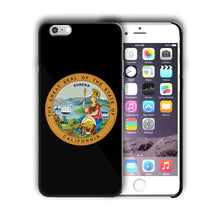 Load image into Gallery viewer, California Great Seal Emblem Iphone 4 4s 5 5s 5c SE 6 6s 7 + Plus Case Cover 05