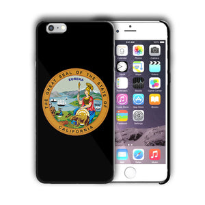 California Great Seal Emblem Iphone 4 4s 5 5s 5c SE 6 6s 7 + Plus Case Cover 05