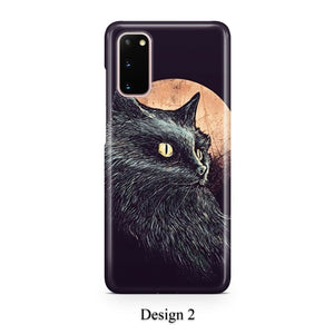 Cats of Goth case for Galaxy s20 s20+ Ultra s10 s10+ s9 s8 s7 S6 Edge SN