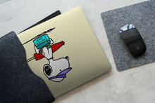 Load image into Gallery viewer, Cartoon Dog Snoopy MacBook case for Mac Air Pro M1 13 16 Cover Skin SN181