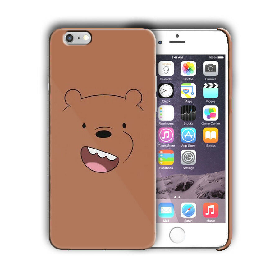 Animation We Bare Bears Iphone 4 4s 5 5s 5c SE 6 6s 7 + Plus Case Cover 02