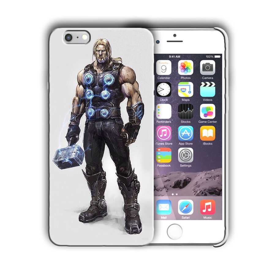 Super Hero Thor Iphone 4s 5 SE 6 6s 7 8 X XS Max XR 11 Pro Plus Case Cover n4