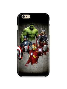The Incredible Hulk Avengers Iphone 4s 5 6 7 8 X XS Max XR 11 Pro Plus Case 2