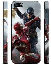 Load image into Gallery viewer, Captain America: Civil War Iphone 4 4s 5 5s 5c SE 6 6S 7 8 X Plus Case Cover 6