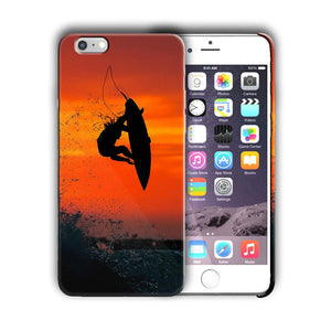Extreme Sports Surfing Iphone 4 4s 5 5s 5c SE 6 6s 7 8 X XS Max XR Plus Case 02