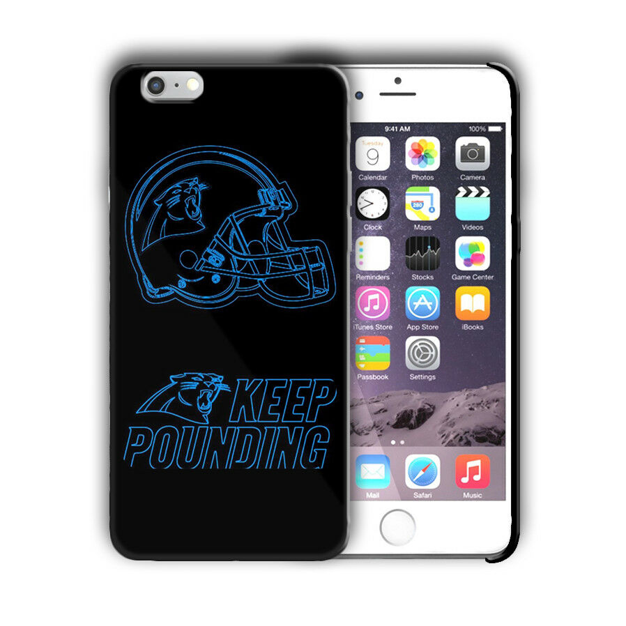 Carolina Panthers Case for Iphone 8 7 6 11 Pro Plus and other models Cover n7
