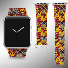 Load image into Gallery viewer, Ohio State Buckeyes Apple Watch Band 38 40 42 44 mm Series 1 - 5 Wrist Strap 5