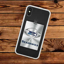 Load image into Gallery viewer, Rubber bumper case Seattle Seahawks for iphone 5 6 7 8 plus X XS Max XR cover