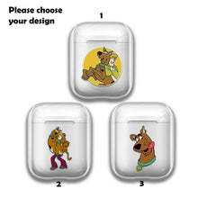 Load image into Gallery viewer, Catroon Scooby-Doo Silicone Case for AirPods 1 2 3 Pro gel clear cover SN 219