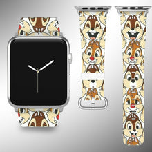 Load image into Gallery viewer, Chip and Dale Apple Watch Band 38 40 42 44 mm Series 5 1 2 3 4 Wrist Strap 2