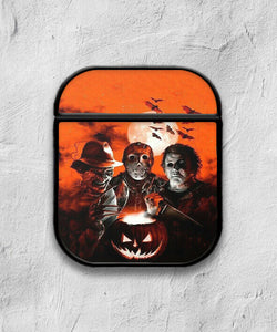 Halloween Freddy Krueger Horror case for AirPods 1 or 2 protective cover skin