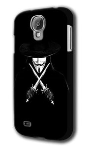 V For Vendetta Mask Samsung Galaxy S4 S5 S6 Edge Note 3 4 5 + Plus Case Cover 54