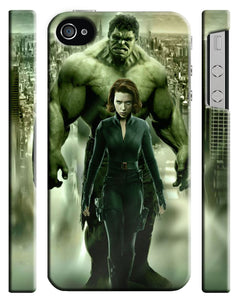 The Hulk Black Widow Iphone 4s 5 6 7 8 X XS Max XR 11 Pro Plus Case Cover 5
