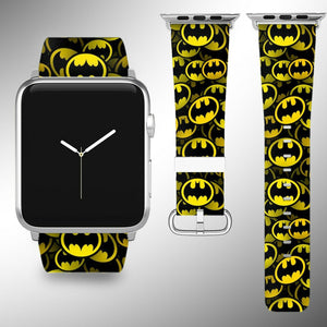 Batman Apple Watch Band 38 40 42 44 mm Series 5 1 2 3 4 Wrist Strap 01