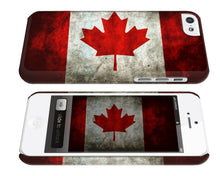 Load image into Gallery viewer, National Symbol Of Canada Flag iPhone 4 4S 5 5S 5c 6 6S 7 + Plus SE Case Cover 2