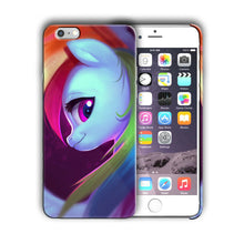 Load image into Gallery viewer, Animation My Little Pony Iphone 4s 5s 5c SE 6 6s 7 8 X XS Max XR Plus Case 12