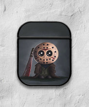 Load image into Gallery viewer, Halloween Jason Mask case for AirPods 1 or 2 protective cover skin