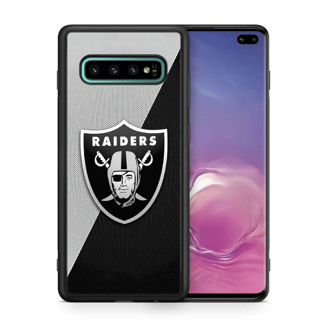 Oakland Raiders protective TPU case for Galaxy S10 E S9 plus S5 S6 S7 S8 note 5