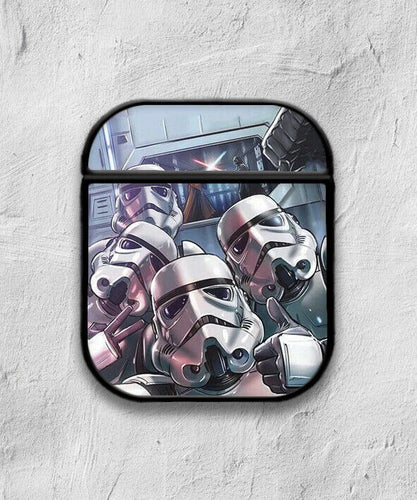 Star Wars Stormtrooper case for AirPods 1 or 2 protective cover skin 05