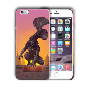 Super Hero Black Panther Iphone 4 4s 5 5s 5c SE 6s 7 8 X XS Max XR Plus Case n9