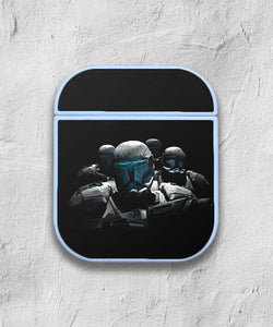 Star Wars Stormtrooper case for AirPods 1 or 2 protective cover skin 01