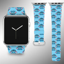 Load image into Gallery viewer, Stitch Disney Apple Watch Band 38 40 42 44 mm Series 5 1 2 3 4 Wrist Strap 02