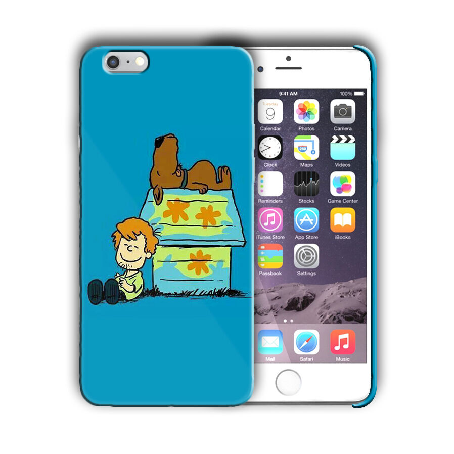Scooby-Doo Anime Iphone 4 4s 5 5s 5c SE 6 6s 7 8 X XS Max XR Plus Case Cover 2