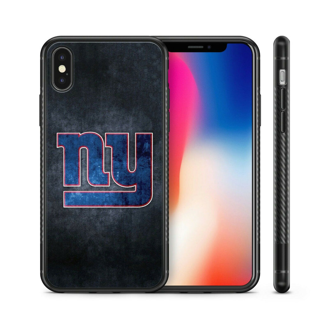 New York Giants TPU bumper case cover for iphone X XS Max XR 5 6 7 8 plus
