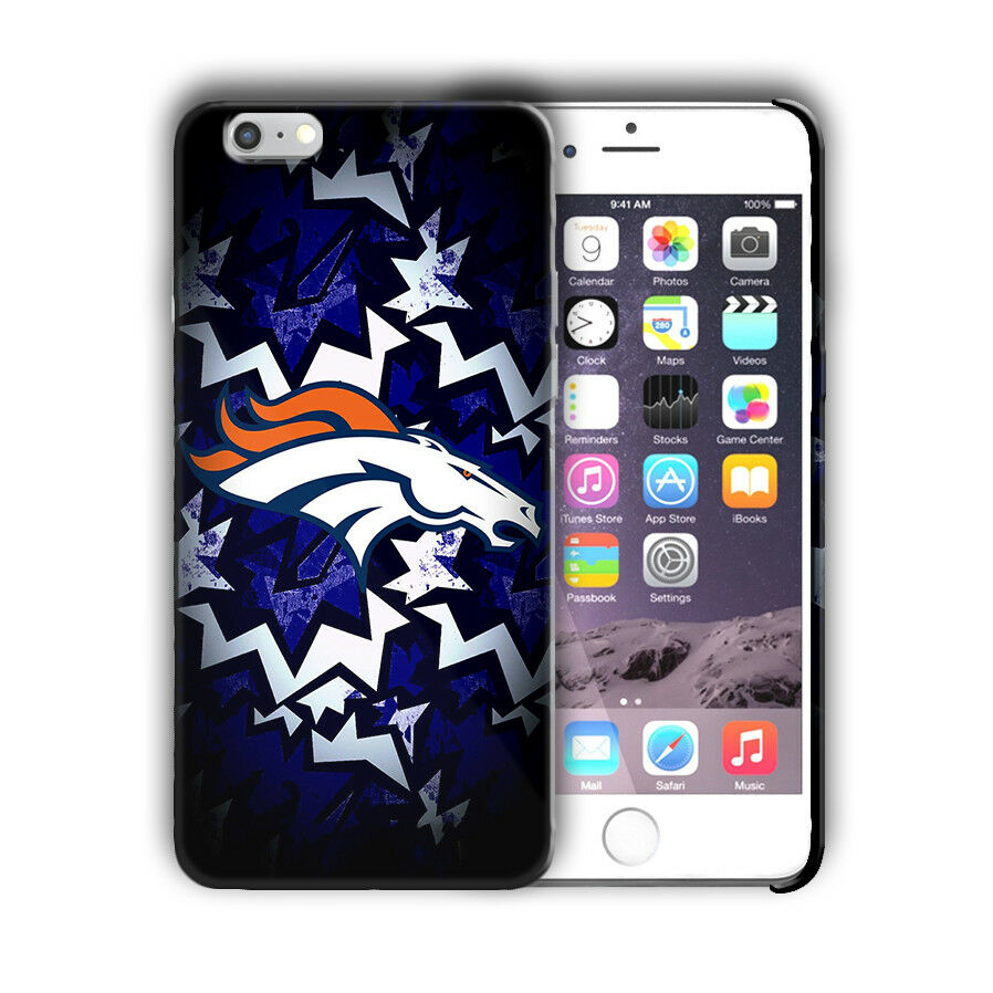 Denver Broncos Case for Iphone 8 7 6 11 Pro Plus and other models Cover n9