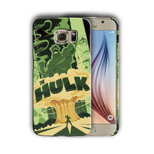 Super Hero Hulk Samsung Galaxy S4 5 6 7 8 9 10 E Edge Note 3 - 10 Plus Case n14