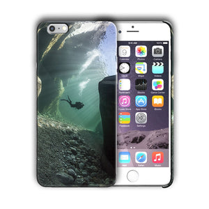 Extreme Sports Diving Iphone 4 4s 5 5s 5c SE 6 6s 7 + Plus Case Cover 02