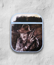 Load image into Gallery viewer, Halloween Freddy Krueger case for AirPods 1 or 2 protective cover skin 02