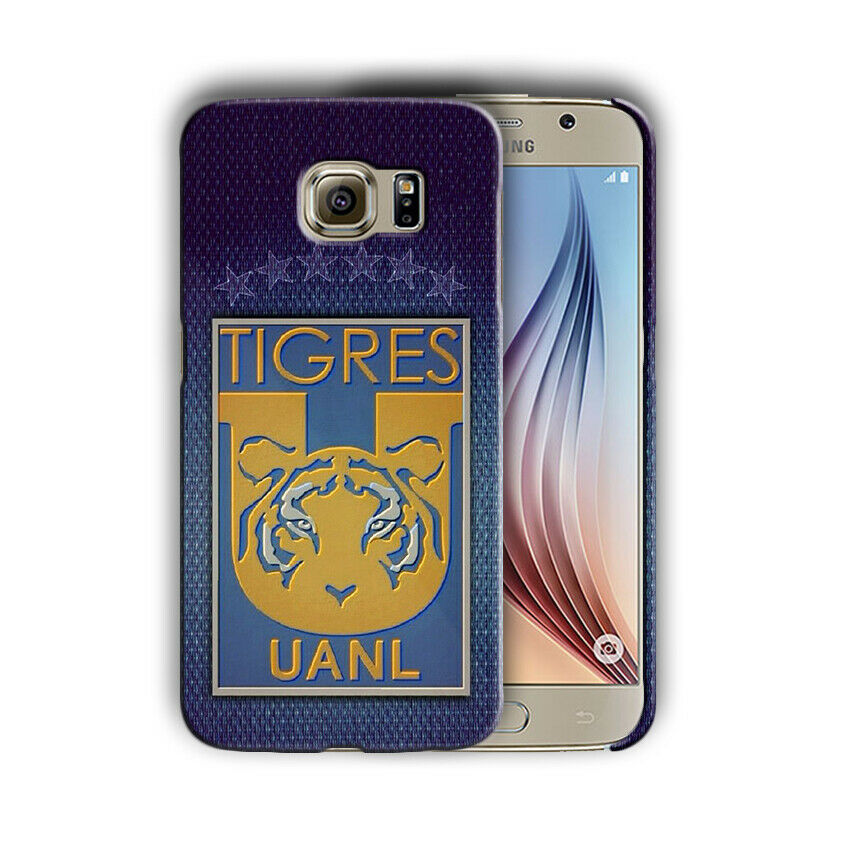 Tigres UANL Samsung Galaxy S4 5 6 7 8 9 10 E Edge Note 3 4 5 8 9 10 Plus Case 04