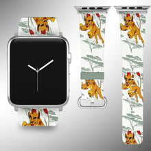Load image into Gallery viewer, The Lion King Simba Apple Watch Band 38 40 42 44 mm Disney 5 1 2 3 4 Wrist Strap