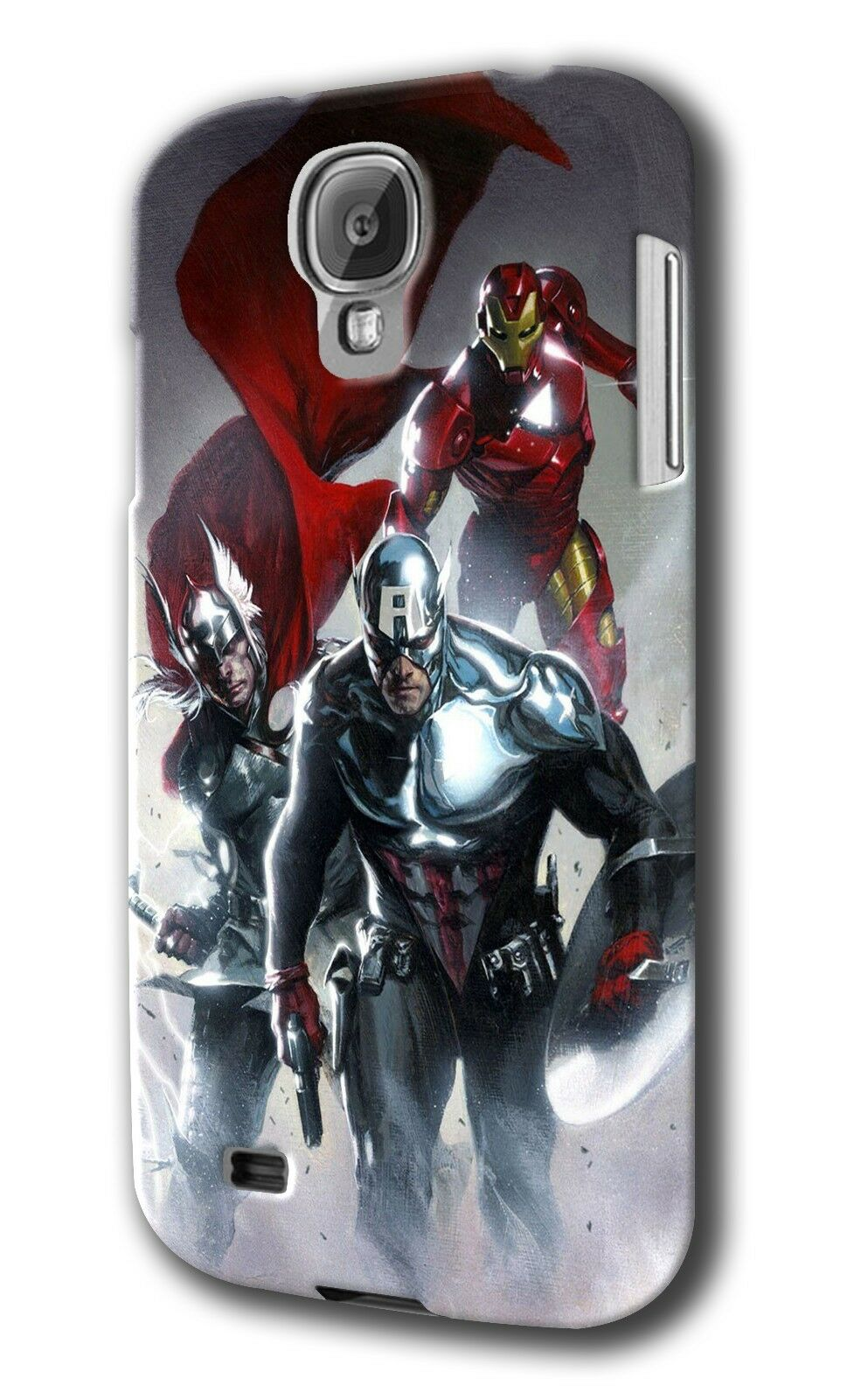 Captain America Avengers Samsung Galaxy S4 5 6 7 8 Edge Note 3 4 5 7 + Plus Case
