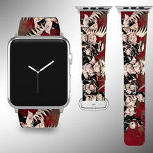 Load image into Gallery viewer, Naruto Apple Watch Band 38 40 42 44 mm Fabric Leather Strap 2