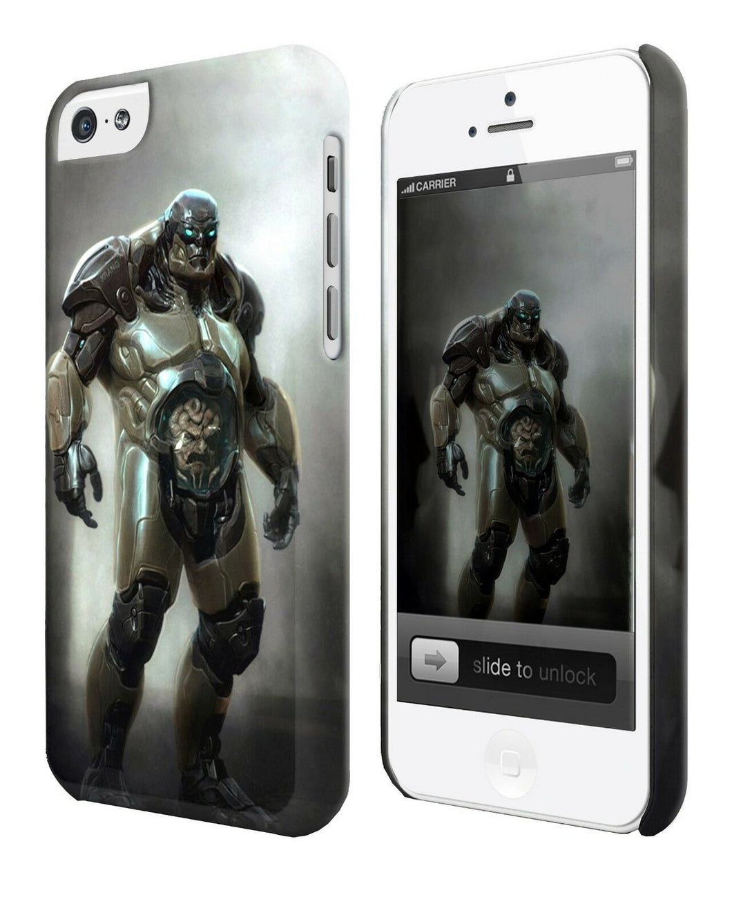Teenage Mutant Ninja Turtles Krang iPhone 4S 5S 5c 6S + Plus SE Case Cover 1