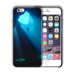 Extreme Sports Diving Iphone 4 4s 5 5s 5c SE 6 6s 7 + Plus Case Cover 05
