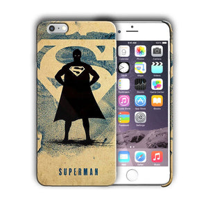 Super Hero Superman Iphone 4s 5 SE 6 6s 7 8 X XS Max XR 11 Pro Plus Case n10