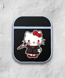 Halloween Hello Kitty case for AirPods 1 or 2 protective cover skin