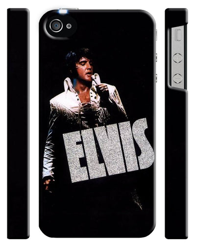 Elvis Presley Singer The King iPhone 4S 5 5S 5c 6S 7 8 X XS Max XR Plus Case 15