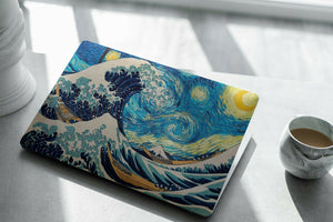 The Great Wave Kanagawa MacBook case for Mac Air Pro M1 13 16 Cover Skin SN114