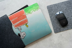 Cartoon Dog Snoopy MacBook case for Mac Air Pro M1 13 16 Cover Skin SN186