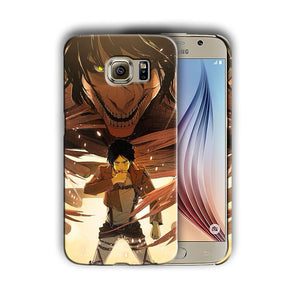 Attack on Titan Eren Yeager Galaxy S4 5 6 7 Edge Note 3 4 5 Plus Case Cover 11