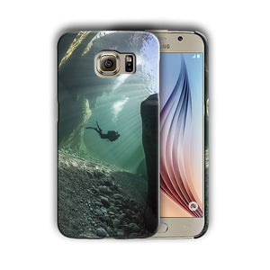 Extreme Sports Diving Samsung Galaxy S4 S5 S6 S7 Edge Note 3 4 5 Plus Case 02